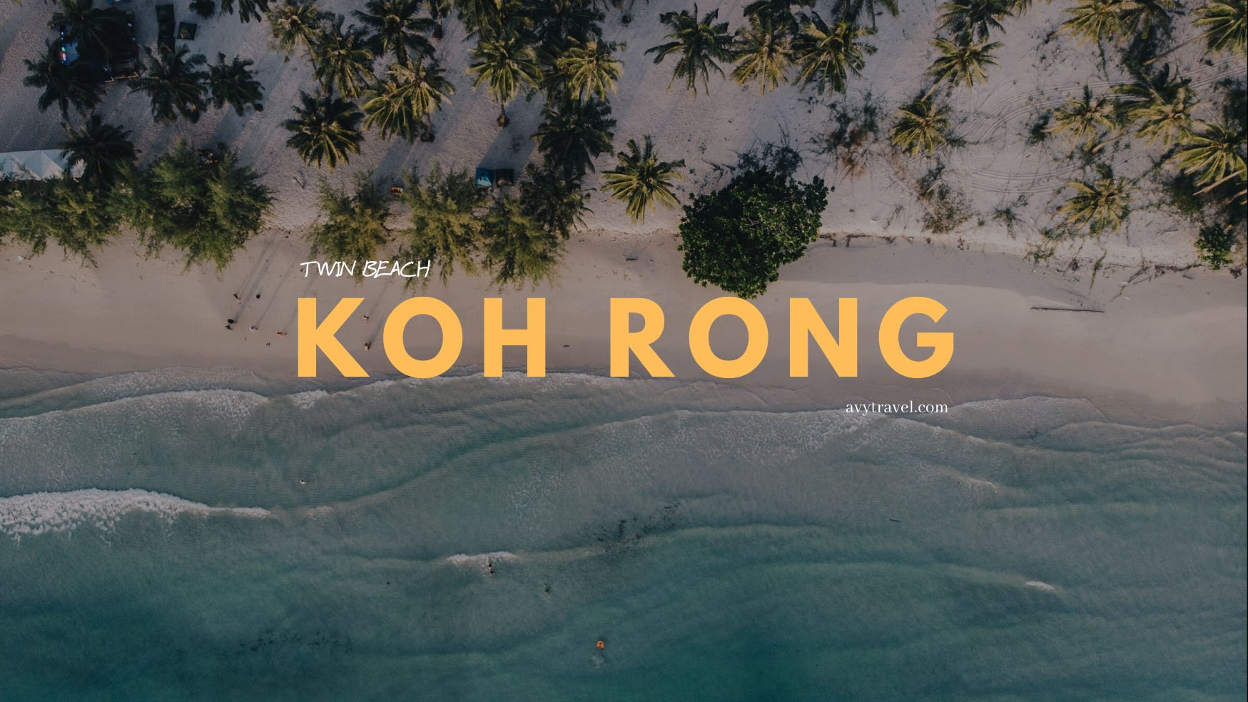 Koh Rong: Twin Beach (Koh Thansour)