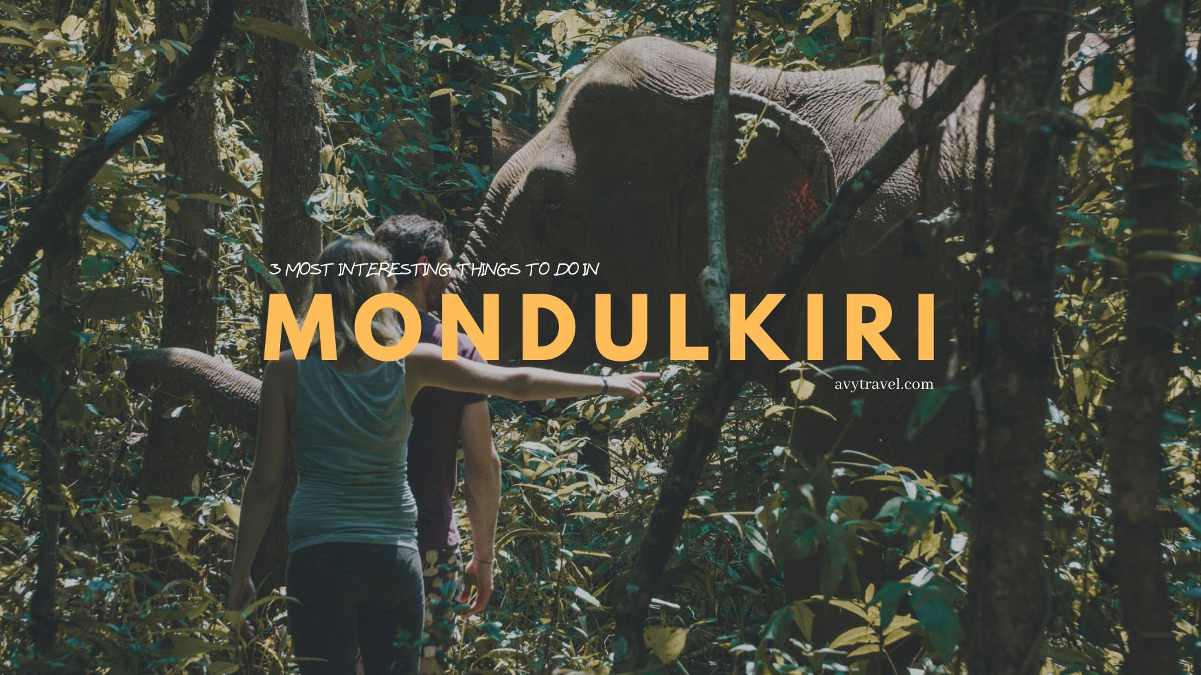 Mondulkiri: 3 Most Interesting Things to Do