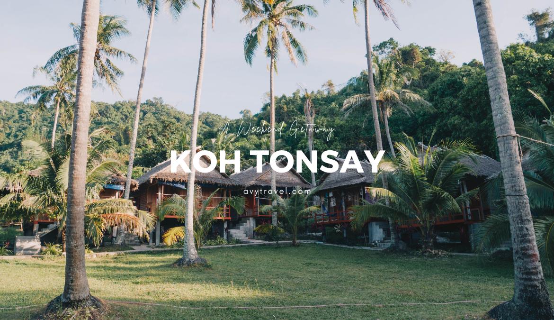 A Weekend Getaway: Koh Tonsay (Rabbit Island)