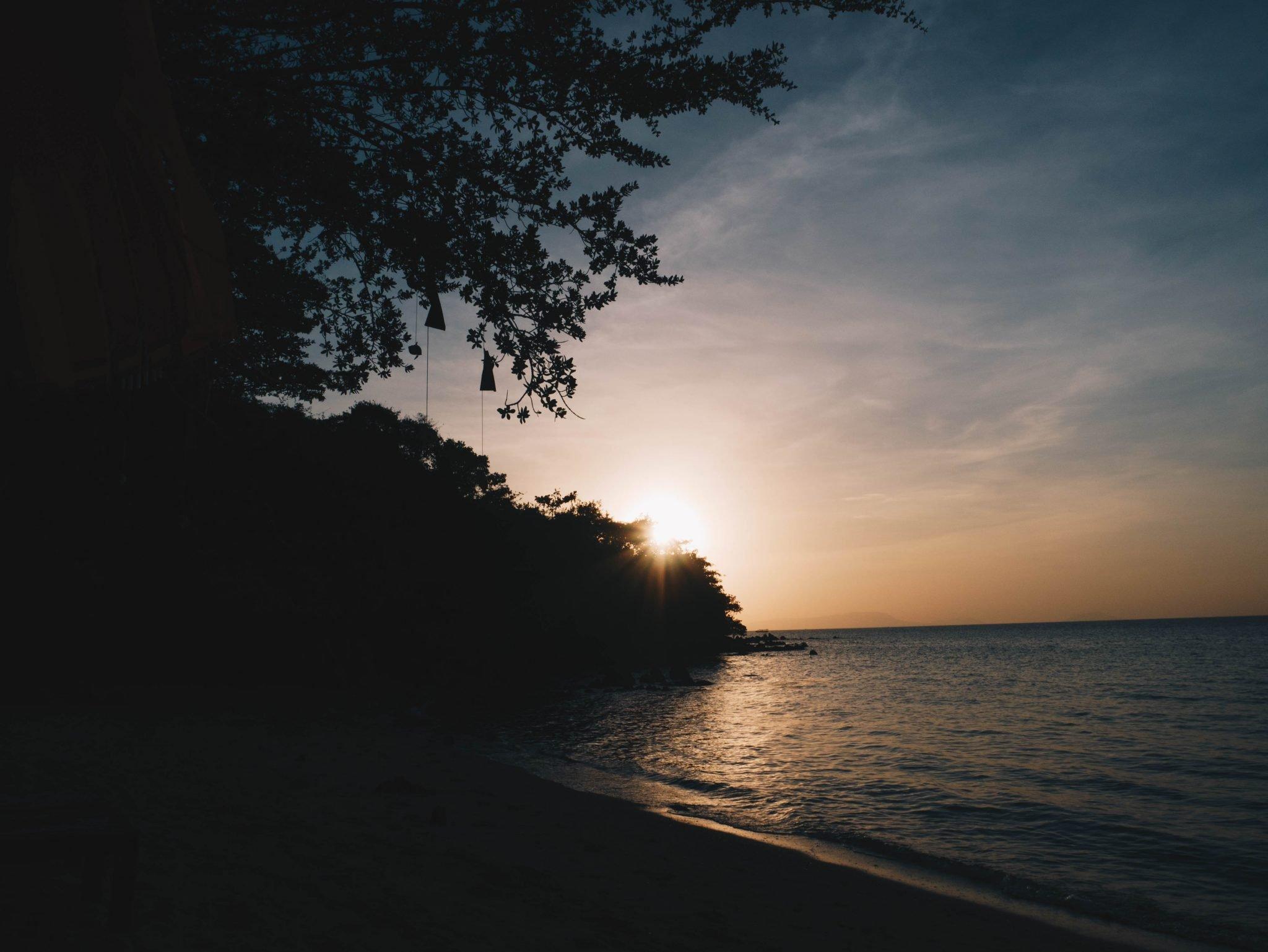koh tonsay sunset