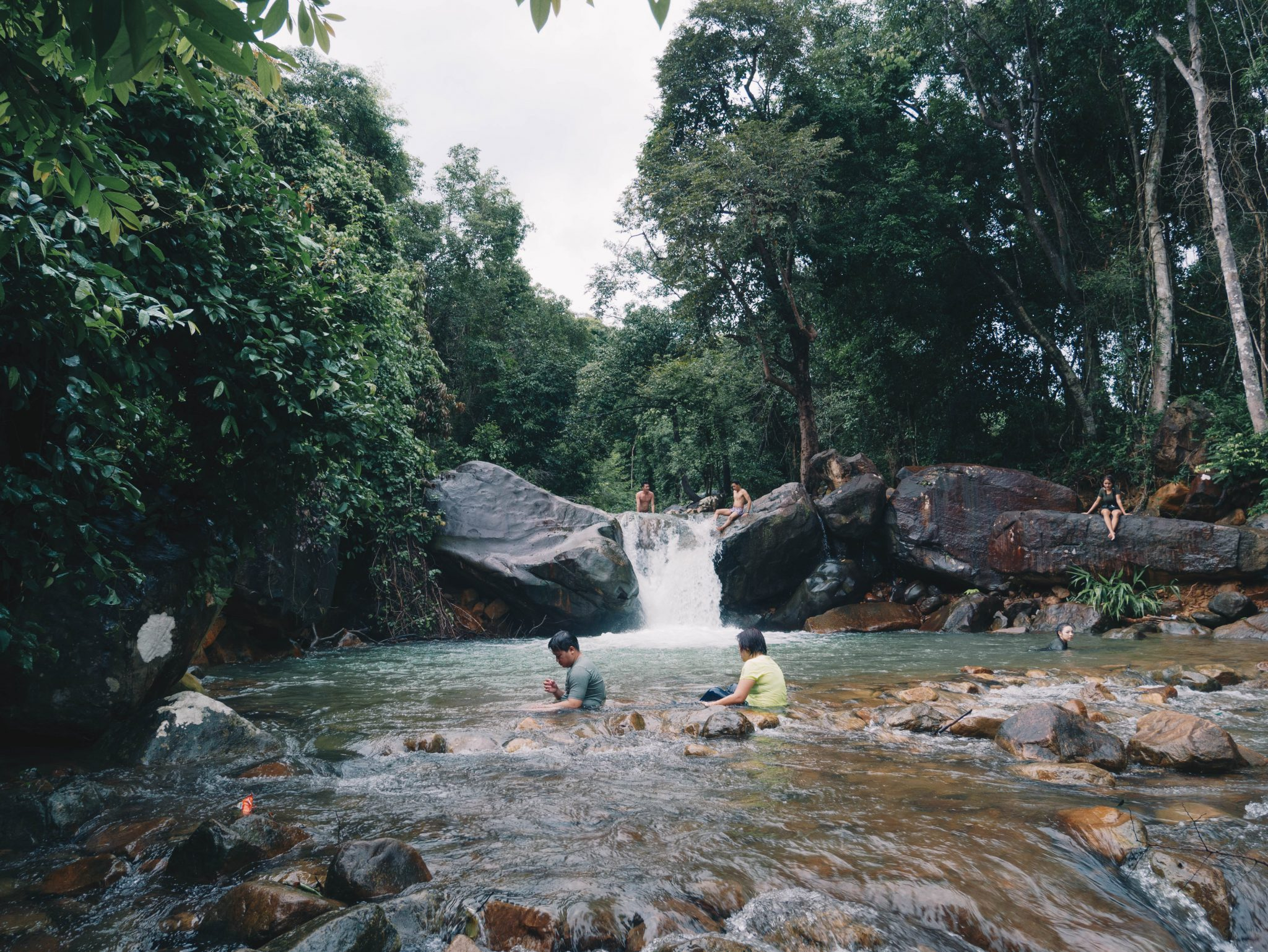 Veal Pouch Waterfall